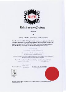 Autocraft is certified by RIES.